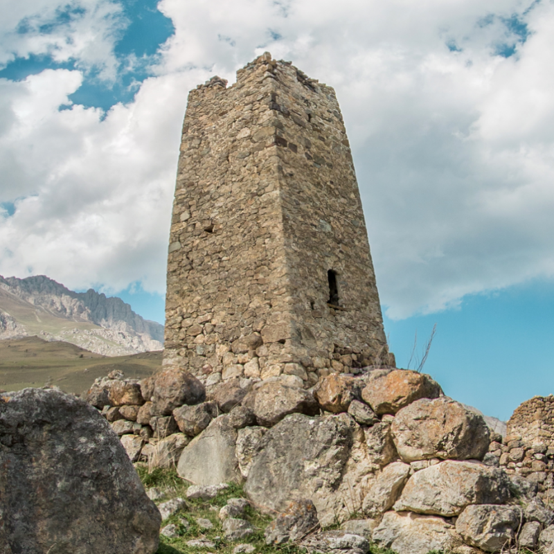 ЗАСТАВКА Цымыти. Башня Гаппоевых