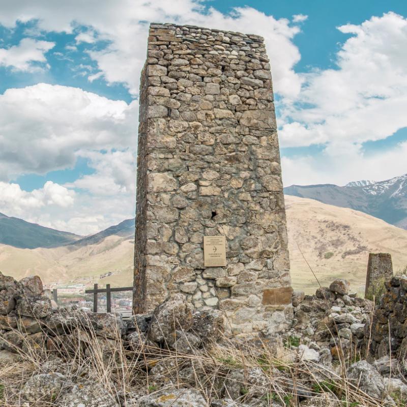 ЗАСТАВКА Цымыти. башня Басаевых