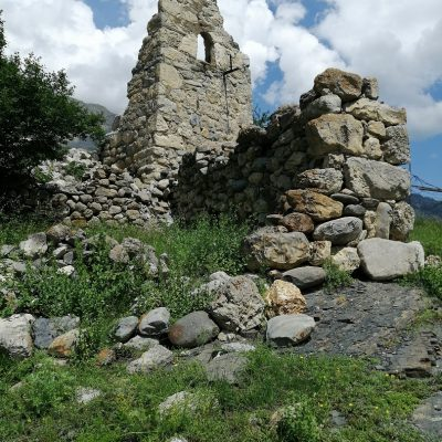 Фото 6. Даллагкау. Башня Дзодзиков